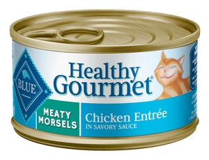 Blue Buffalo Healthy Gourmet Meaty Morsels Chicken Entree Canned Cat Food
