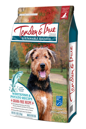 Tender & True Grain Free Ocean Whitefish and Potato Recipe Dry Dog Food