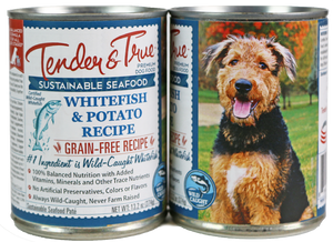 Tender & True Grain Free Ocean Whitefish and Potato Recipe Canned Dog Food