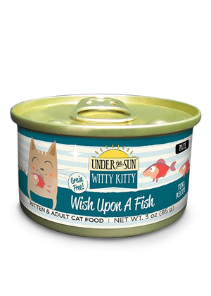 Canidae Under the Sun Witty Kitty: Wish Upon A Fish Grain Free Tuna Pate Canned Cat Food