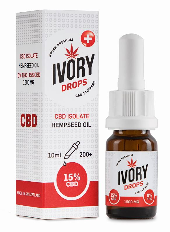 IVORY Drops Hempspeed Oil 10ml 15% - [product_tag] - goodvibe.ch