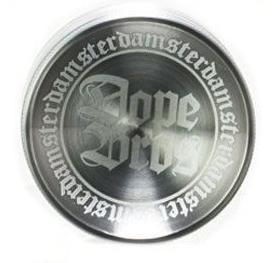 Grinder «DopeBros» Silber / 4-teilig Durchmesser: 56mm - [product_tag] - goodvibe.ch