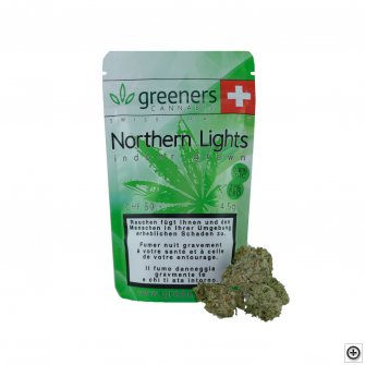 Greeners CBD - Northern Lights 4.5g (Art. 62) - [product_tag] - goodvibe.ch