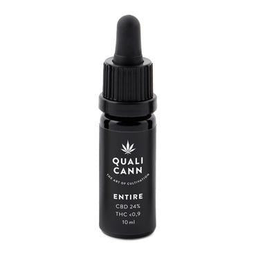 Qualicann CBD Öl Entire 10ml (CBD: 12% / THC: 0,2%) (Art. 72)