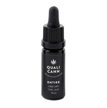 Qualicann CBD Öl Entire 10ml (CBD: 12% / THC: 0,2%) (Art. 72) - [product_tag] - goodvibe.ch