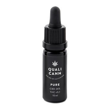 Qualicann CBD Öl Pure 10ml (CBD: 6% / THC: <0,1%) (Art. 69) - [product_tag] - goodvibe.ch