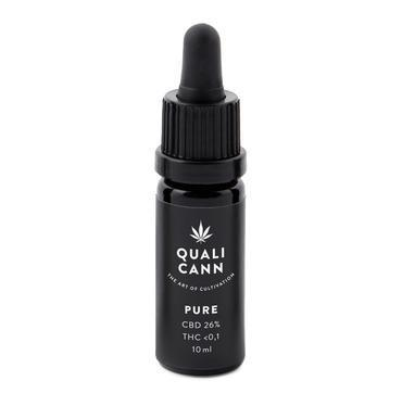 Qualicann CBD Öl Pure 10ml (CBD: 16% / THC: <0,1%) (Art. 70) - [product_tag] - goodvibe.ch