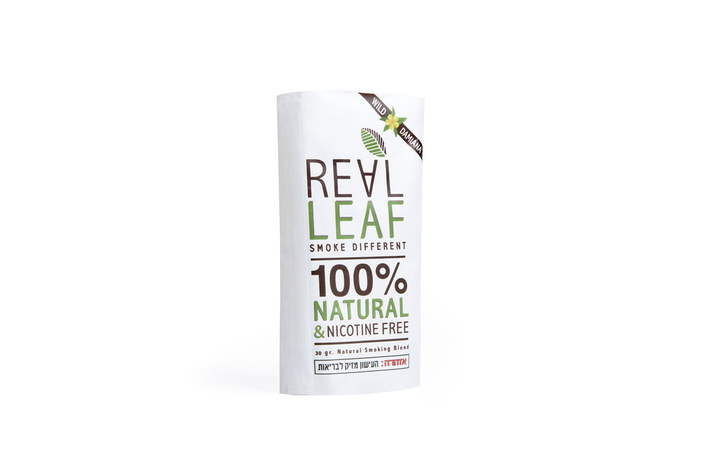 "Real Leaf Wild Damiana ""Organic blend"" 