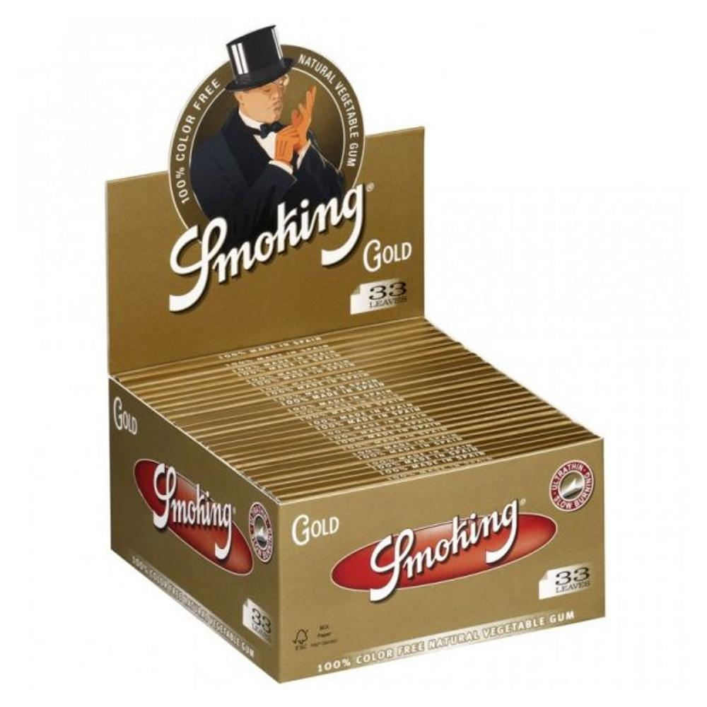 Smoking Gold KS - Box (50Stk.)