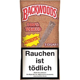 Backwoods Authentic (5 Zigarren) (Art. 127) - [product_tag] - goodvibe.ch