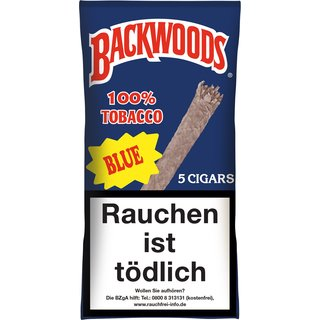 Backwoods Blue (5 Zigarren) (Art. 126) - [product_tag] - goodvibe.ch