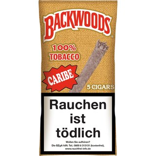 Backwoods Caribe (5 Zigarren) (Art.128) - [product_tag] - goodvibe.ch