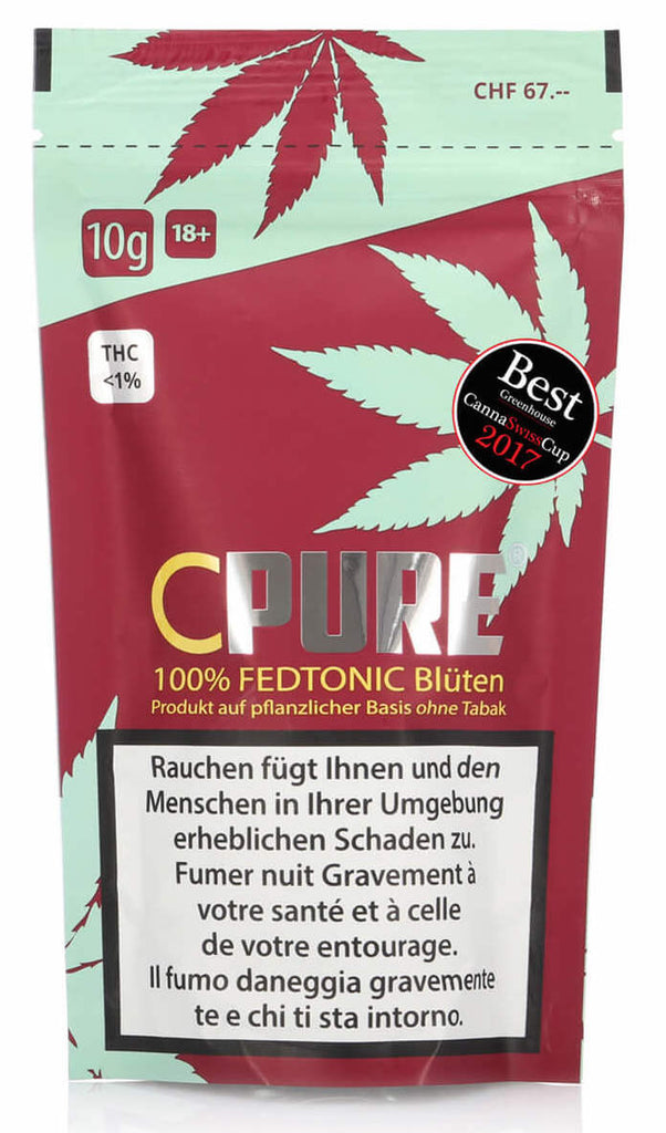CPure FedTonic Blüten Treibhaus 10g (Art. 44) - [product_tag] - goodvibe.ch