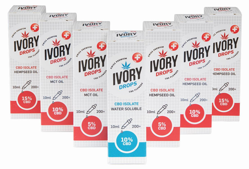 IVORY Drops MCT Oil 10ml 5% - [product_tag] - goodvibe.ch