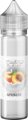 Simple Line - Aprikose (40ml in 60ml Behälter) - [product_tag] - goodvibe.ch