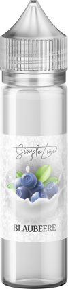Simple Line - Blaubeere (40ml in 60ml Behälter) - [product_tag] - goodvibe.ch