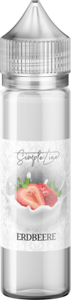 Simple Line - Erdbeere (40ml in 60ml Behälter) - [product_tag] - goodvibe.ch