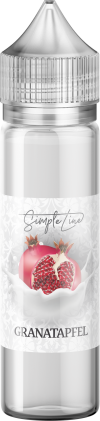 Simple Line - Granatapfel (40ml in 60ml Behälter) - [product_tag] - goodvibe.ch