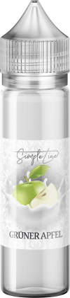 Simple Line - Grüner Apfel (40ml in 60ml Behälter) - [product_tag] - goodvibe.ch