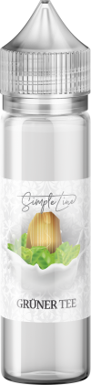 Simple Line - Grüner Tee (40ml in 60ml Behälter) - [product_tag] - goodvibe.ch