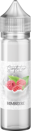 Simple Line - Himbeere (40ml in 60ml Behälter) - [product_tag] - goodvibe.ch