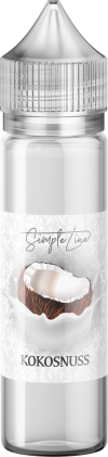 Simple Line - Kokosnuss (40ml in 60ml Behälter) - [product_tag] - goodvibe.ch