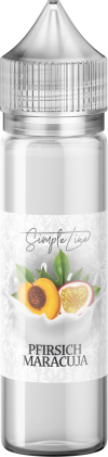 Simple Line - Pfirsich Maracuja (40ml in 60ml Behälter) - [product_tag] - goodvibe.ch