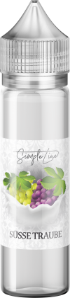 Simple Line - Süsse Traube (40ml in 60ml Behälter) - [product_tag] - goodvibe.ch