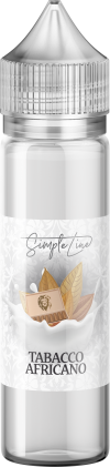Simple Line - Tabacco Africano (40ml in 60ml Behälter)