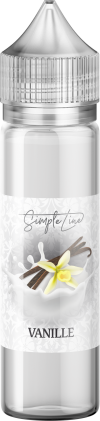 Simple Line - Vanille (40ml in 60ml Behälter) - [product_tag] - goodvibe.ch