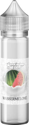 Simple Line - Wassermelone (40ml in 60ml Behälter) - [product_tag] - goodvibe.ch