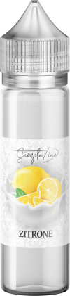 Simple Line - Zitrone (40ml in 60ml Behälter) - [product_tag] - goodvibe.ch