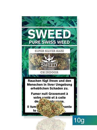 Sweed CBD-Cannabis – Super Silver Haze  10g