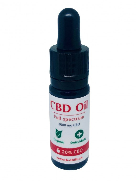 B-Chill CBD-Öl - 20% - Vollspektrum (Art. 134) - [product_tag] - goodvibe.ch