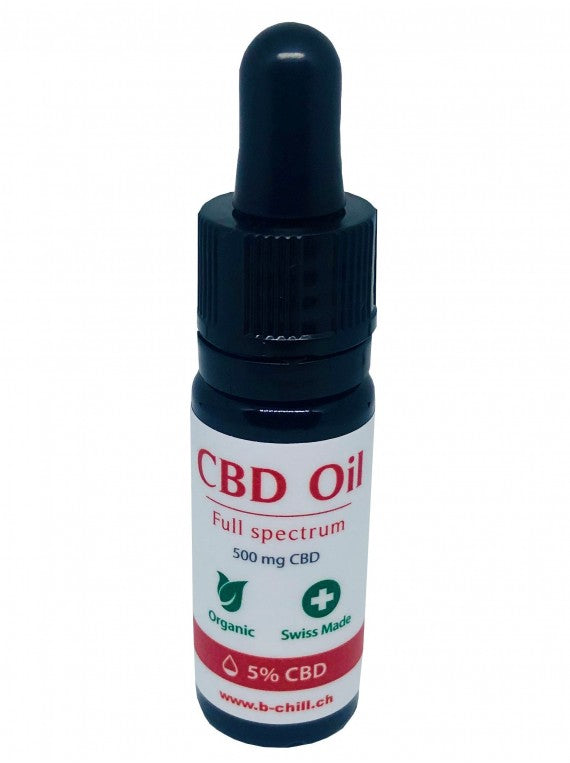 B-Chill CBD-Öl - 5% - Vollspektrum (Art. 133) - [product_tag] - goodvibe.ch