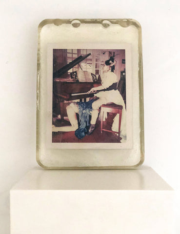 Odd Stories by Carmen De Vos - Original Polaroid cast in resin - Allegro Moderato