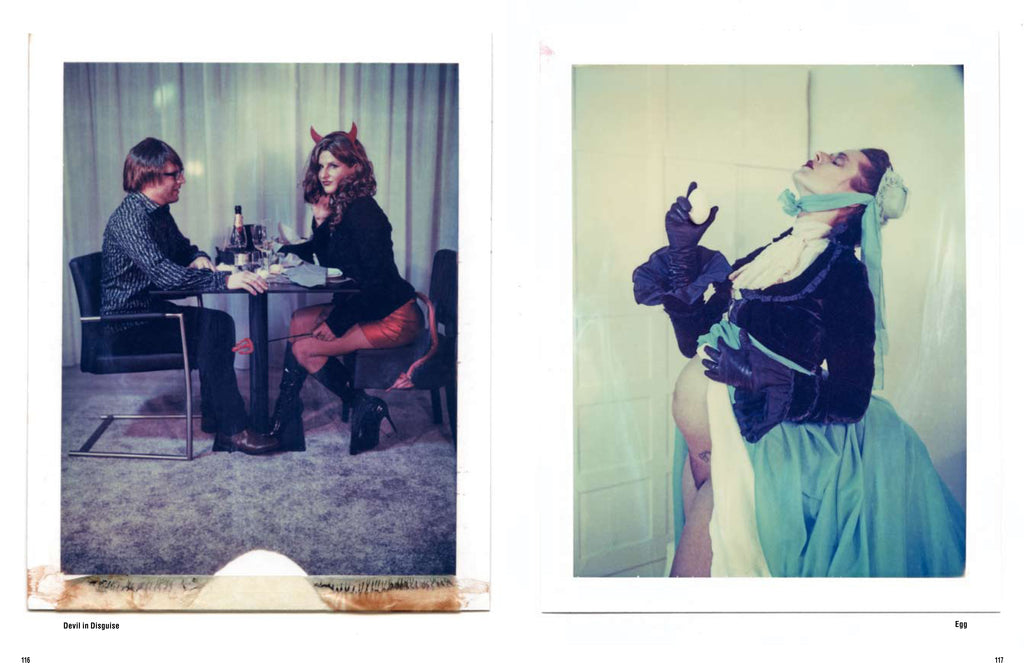The Eyes of the Fox by Carmen De Vos - Uitgeverij Anderzijds - Polaroid Photography