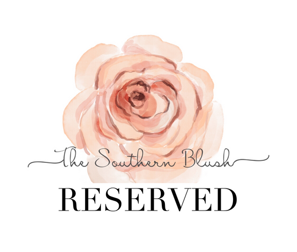 Reserved for Monica Esther
