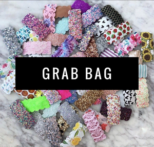 5 Piece Scalloped Snap Clip Grab Bag