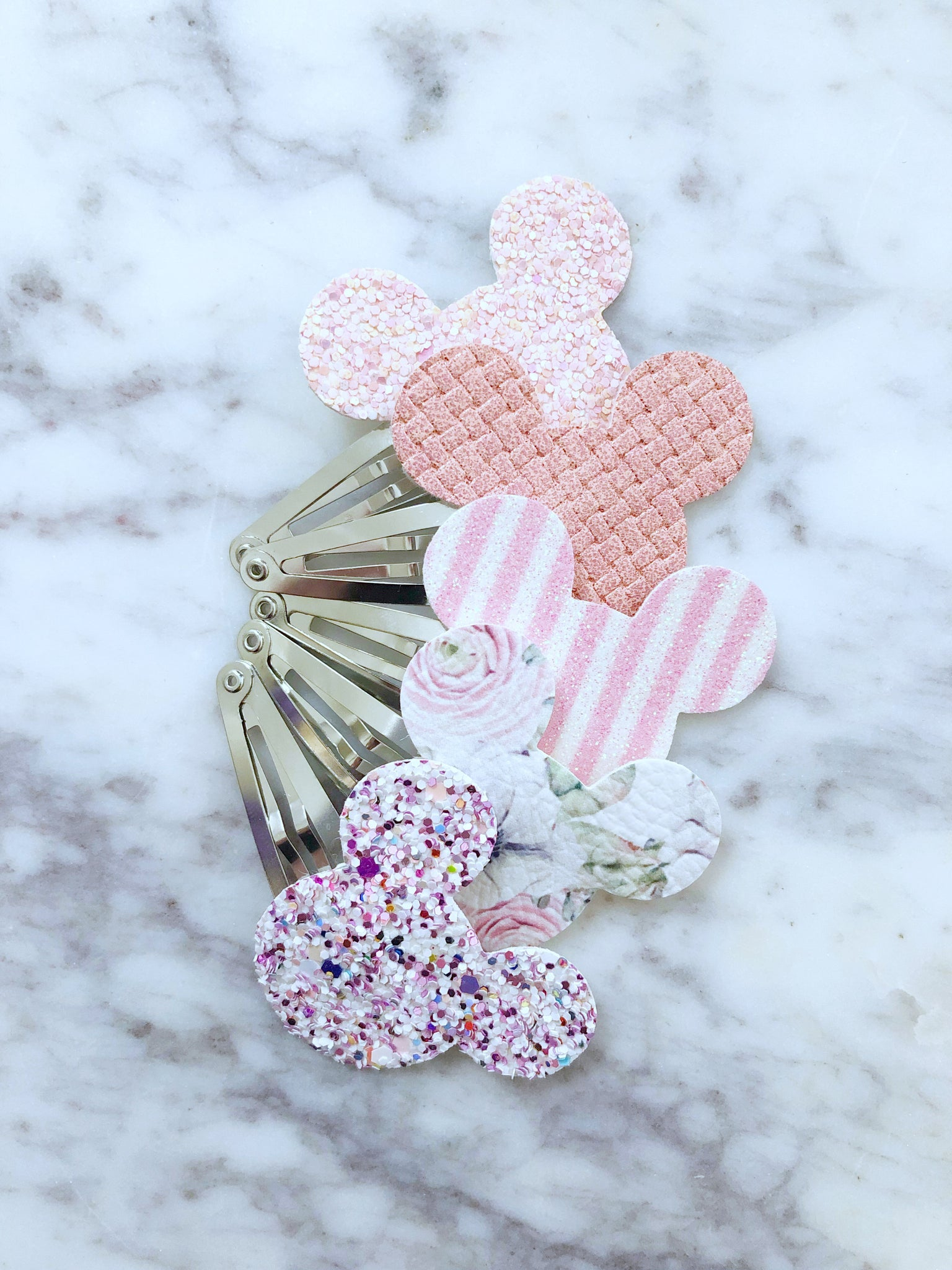Minnie / Mickey - Snap Clips - PICK ONE