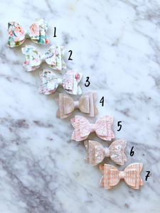 1.7 inch Mini Stacked Bow - Pick one