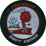"VT 3 Red Knight 3"" Shoulder Patch (3rd Gen)"