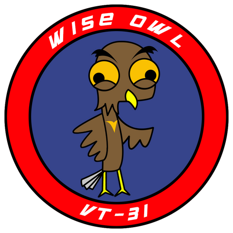 "VT 31 Wise Owl 3"" Shoulder Patch (3rd Gen)"