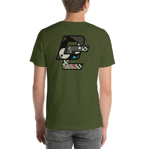 OD Green Doerr Comic T-Shirt
