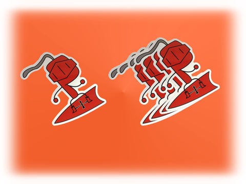 Red Knight Sticker (5 Pack)