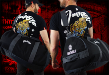 Load image into Gallery viewer, Nakmuay 'BANKJOB 'muay thai sports holdall | DeathBlo