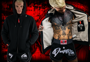 DeathBlo Fleece hoody for muay thai/ nak mauy