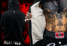 Load image into Gallery viewer, Fleecy 'warm as toast' hoody |Thai boxer Essential | DeathBlo