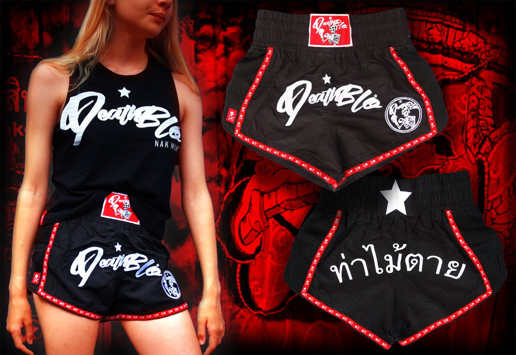 Kids Nak Muay premium fighter shorts UNISEX | DeathBlo
