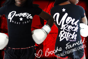 Muay Thai t shirts by Deathblo | You Rock Bitch!!